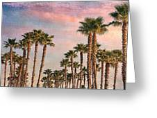 Garden Of Palms Greeting Card