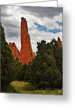 Garden Of The Gods - A Breathtaking Natural Wonder Greeting Card by Christine Till