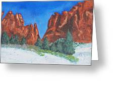 Garden Of The Gods 2 Greeting Card