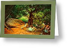 Garden Of The Lost Tribe Greeting Card