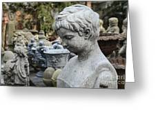 Garden Of Youth Greeting Card