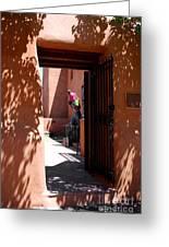 Garden Sculptures Museum Of Art In Santa Fe Nm Greeting Card