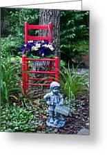 Garden Stil Llife 1 Greeting Card