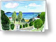 Gardeno Beach Greeting Card