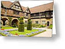 Gardens At Cecilienhof Palace Greeting Card