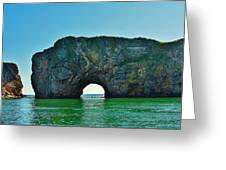 Gaspesie Canada Greeting Card