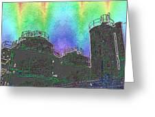 Gasworks Park 4 Greeting Card