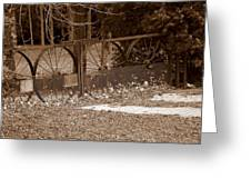 Gate To The Past Greeting Card