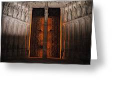 Gateway To The Underworld Greeting Card