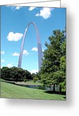 Gateway To The West Greeting Card