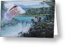 Gaurdian Angel Greeting Card