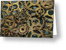 Gears Of Time Greeting Card