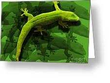 Gecko-gecko-gecko Greeting Card