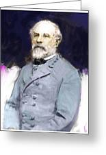 General Lee Greeting Card