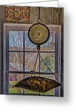 General Store Scale Greeting Card