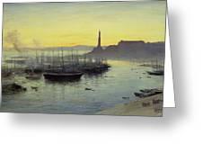Genoa Greeting Card by John MacWhirter