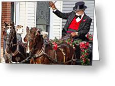 Gentleman Driver Greeting Card