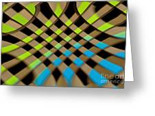 Geometrical Colors And Shapes 1 Greeting Card
