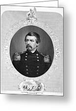 George Brinton Mcclellan Greeting Card