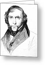 George Cruikshank (1792-1878) Greeting Card by Granger