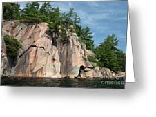 George Lake Greeting Card