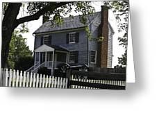 George Peers House Appomattox Virginia Greeting Card