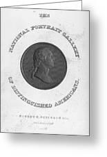 George Washington (1732-1799) Greeting Card