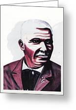 Georges Washington Carver Greeting Card by Emmanuel Baliyanga