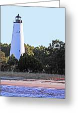 Georgetown Light Winyah Bay Sc Greeting Card