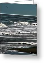 Georgia - Ocean Sparks Greeting Card