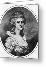 Georgiana Shipley (1752-1806) Greeting Card
