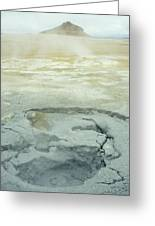 Geothermal Spring Greeting Card