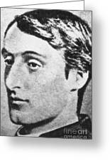 Gerard Manley Hopkins Greeting Card by Science Source