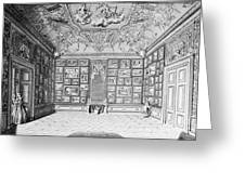 Germany: Gallery, 1731 Greeting Card