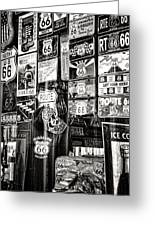 Get Your Kicks On Route 66 II Greeting Card