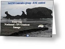 Get250 Comrades June Logo Greeting Card
