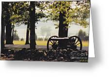 Gettysburg Artillery Greeting Card