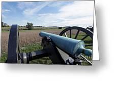 Gettysburg Vintage Cannon Greeting Card