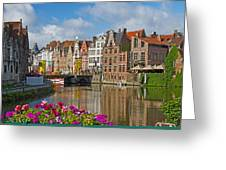 Ghent  Belgium Greeting Card