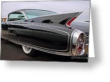Ghost Cadillac Greeting Card