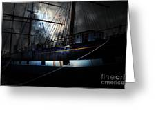 Ghost Ship Of The San Francisco Bay . 7d14153 Greeting Card