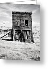 Ghost Town Remains Greeting Card