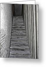 Ghost Town Stairs Bodie California Greeting Card