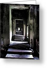 Ghostly Passage Greeting Card