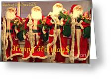 Ghosts Of Christmas Costs Greeting Card Greeting Card