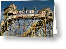 Giant Fun Fair Greeting Card