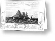 Gibraltar, 19th Century Greeting Card