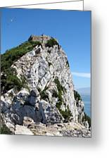 Gibraltar's Moorish Castle Greeting Card