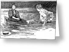 Gibson: A Drama, 1895 Greeting Card