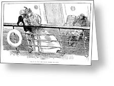 Gibson An Ill Wind, 1897 Greeting Card